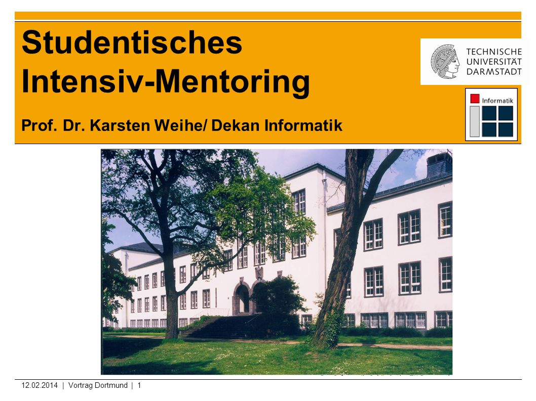 Studentisches Intensiv-Mentoring