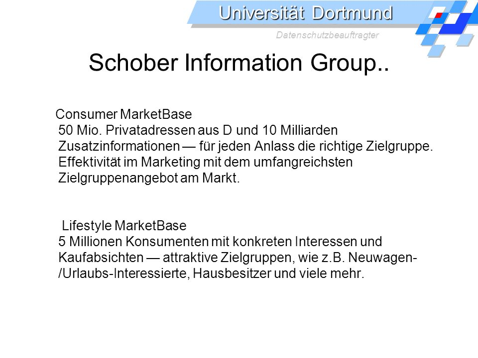 Schober Information Group..