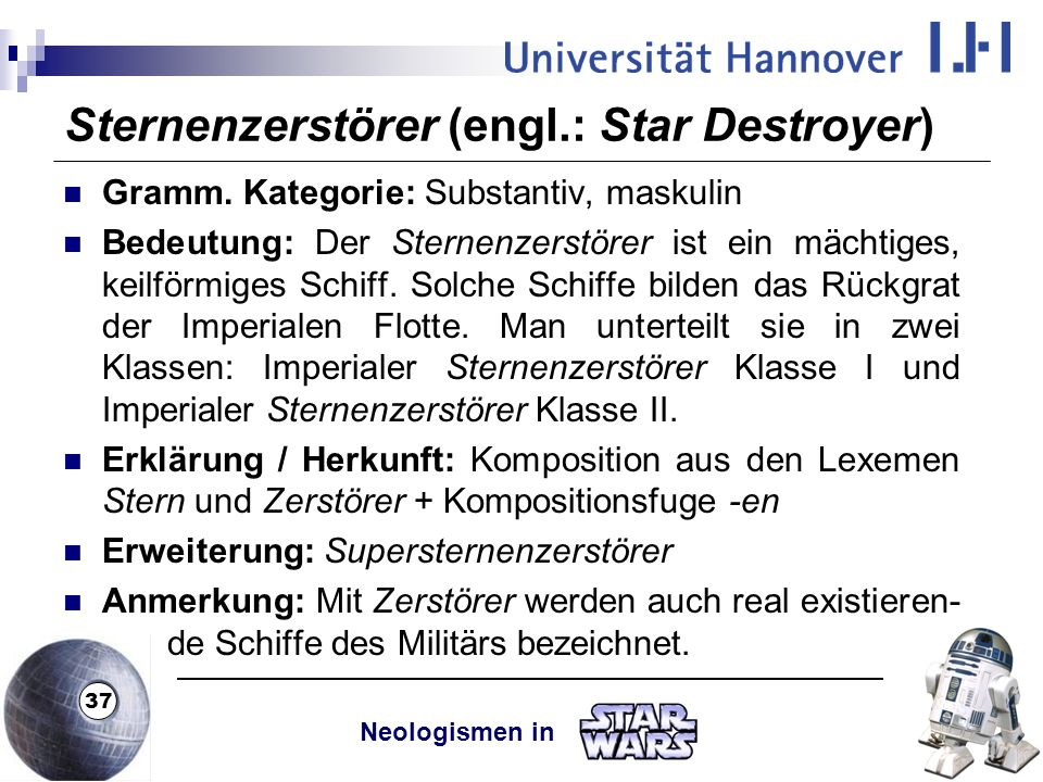 Sternenzerstörer (engl.: Star Destroyer)