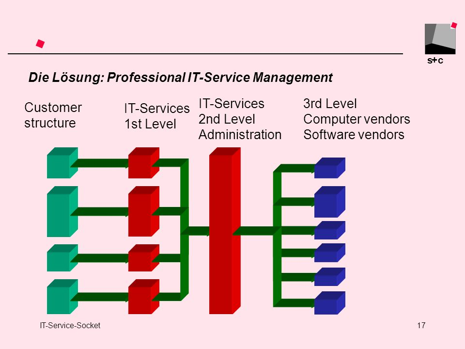 Die Lösung: Professional IT-Service Management