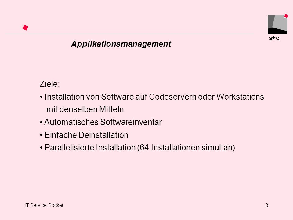 Applikationsmanagement