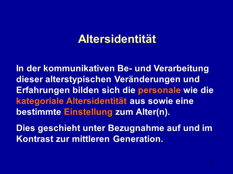 Altersidentität