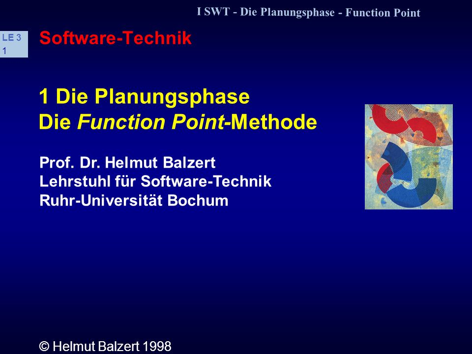 Die Function Point-Methode