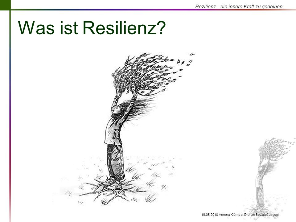 Was ist Resilienz