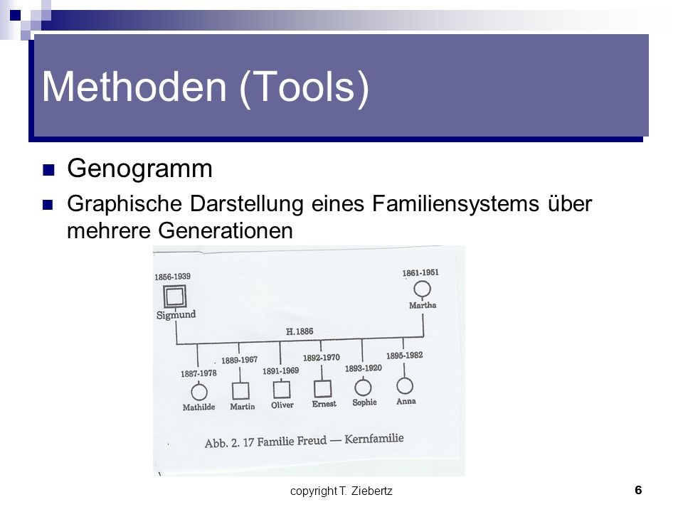 Methoden (Tools) Genogramm