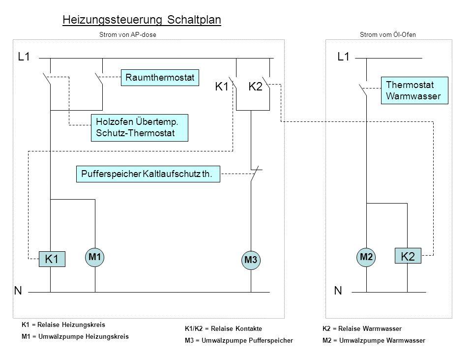 Fein Typischer Thermostat Schaltplan Ideen - Die Besten Elektrischen ...
