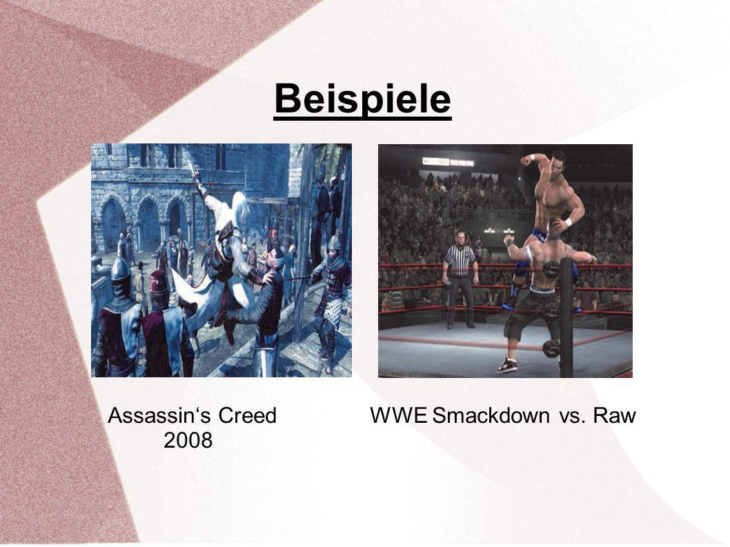 Beispiele Assassin's Creed WWE Smackdown vs. Raw 2008