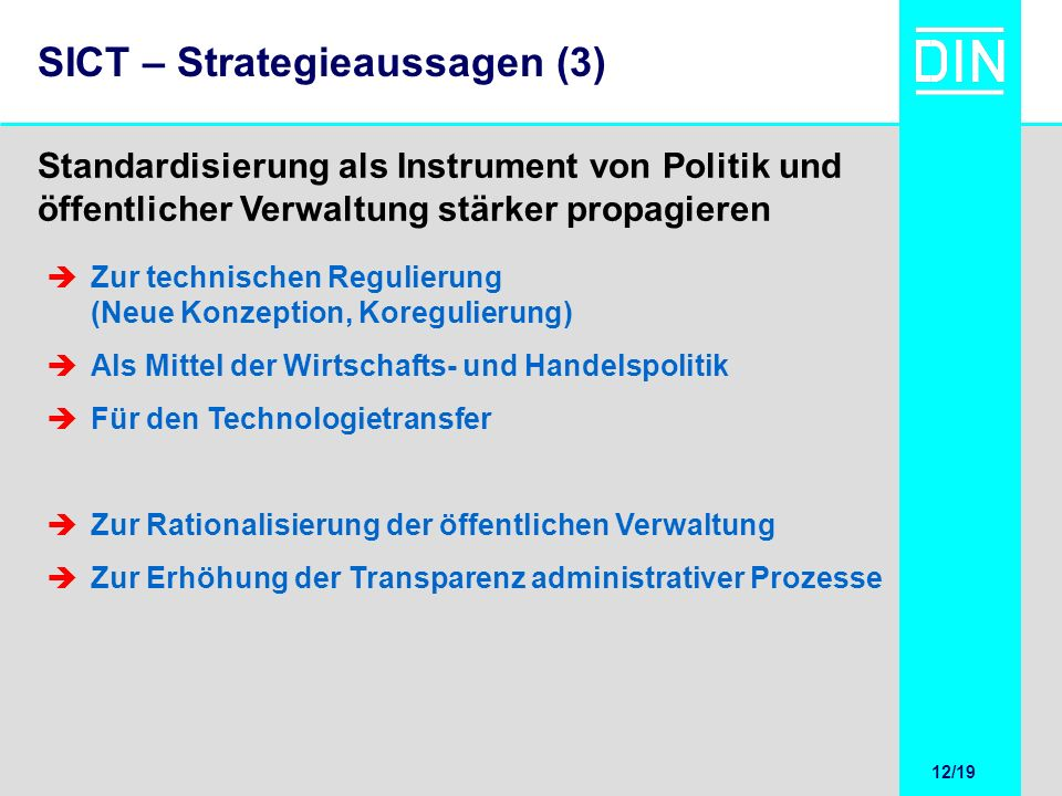 SICT – Strategieaussagen (3)