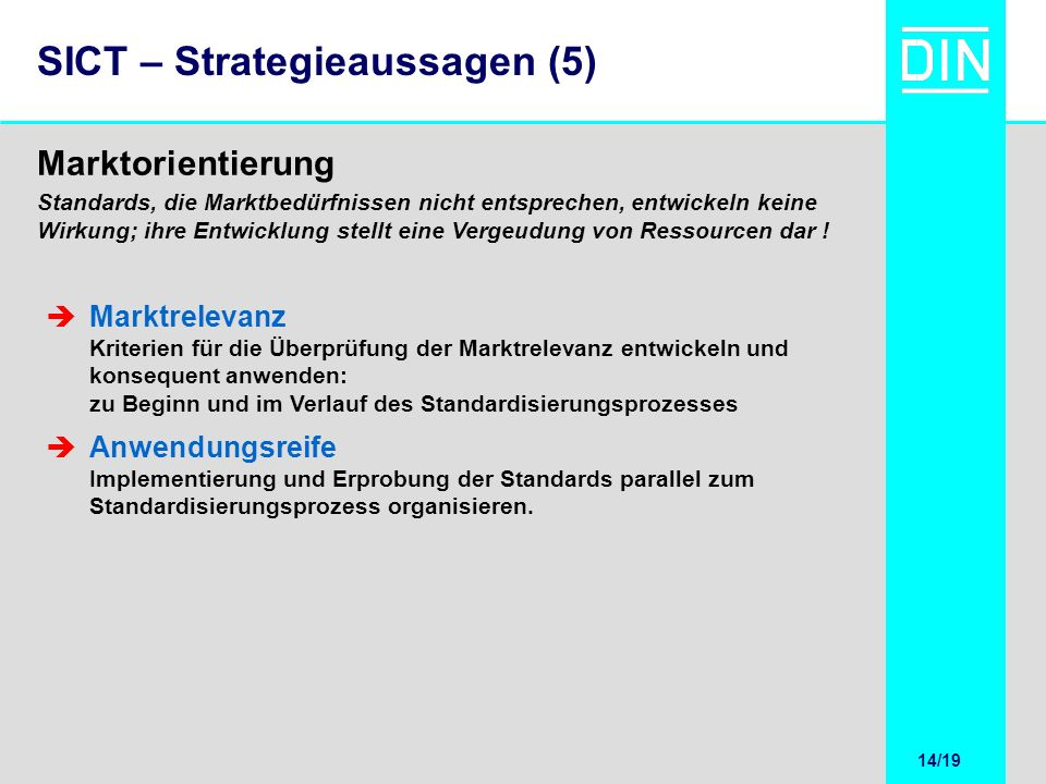 SICT – Strategieaussagen (5)
