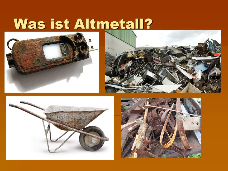 Was ist Altmetall