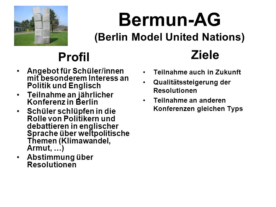 Bermun-AG (Berlin Model United Nations)