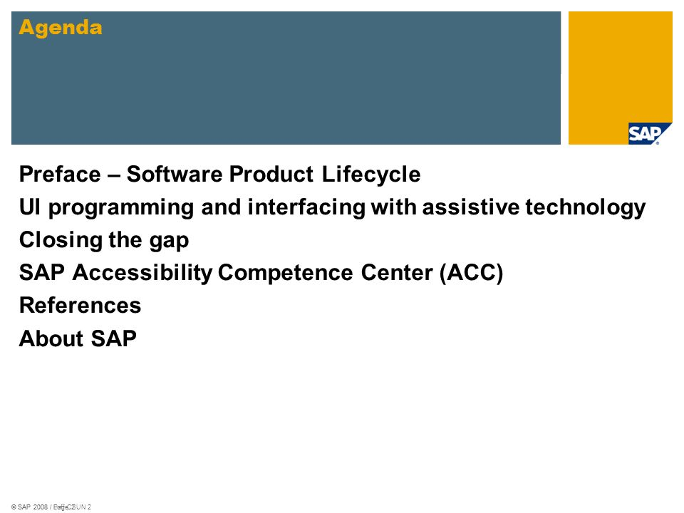 Preface – Software Product Lifecycle