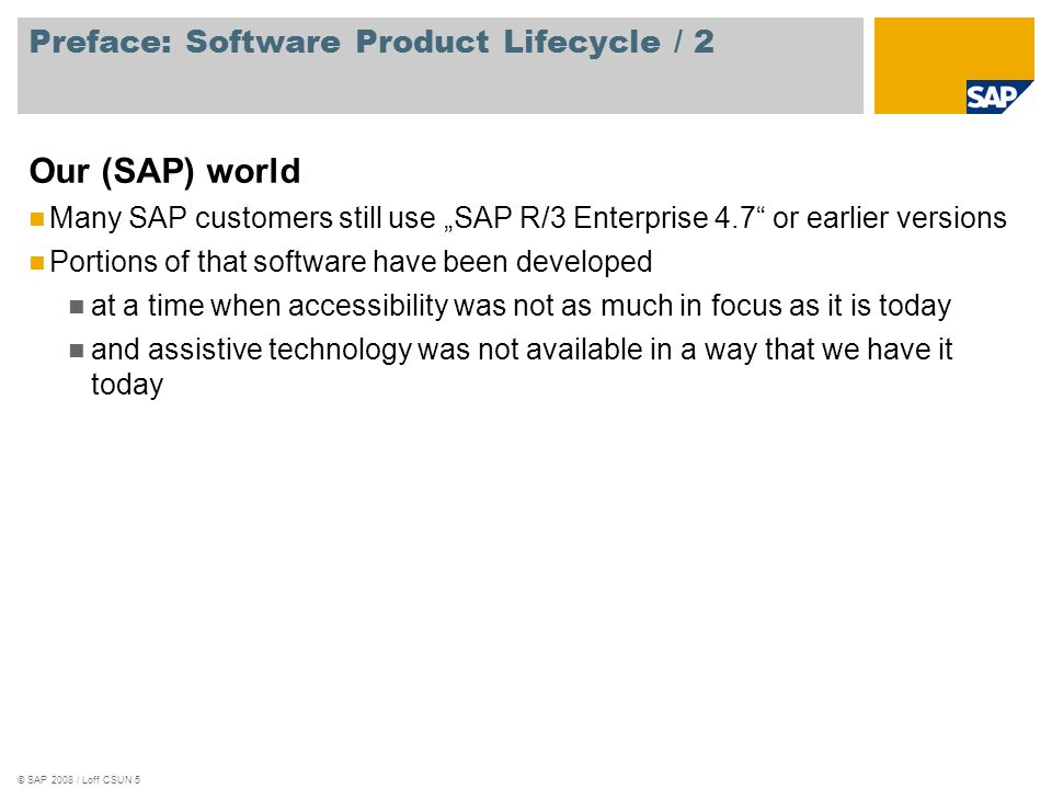 Preface: Software Product Lifecycle / 2