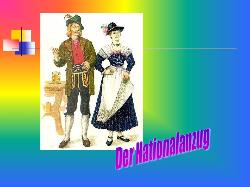 Der Nationalanzug