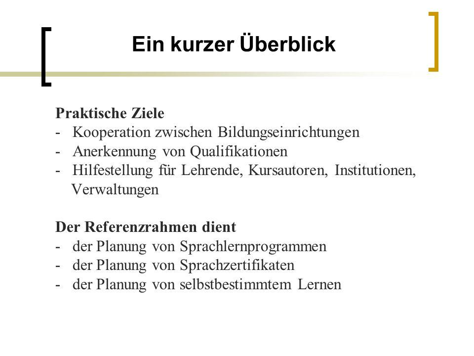 Der Referenzrahmen (GeR) - ppt herunterladen