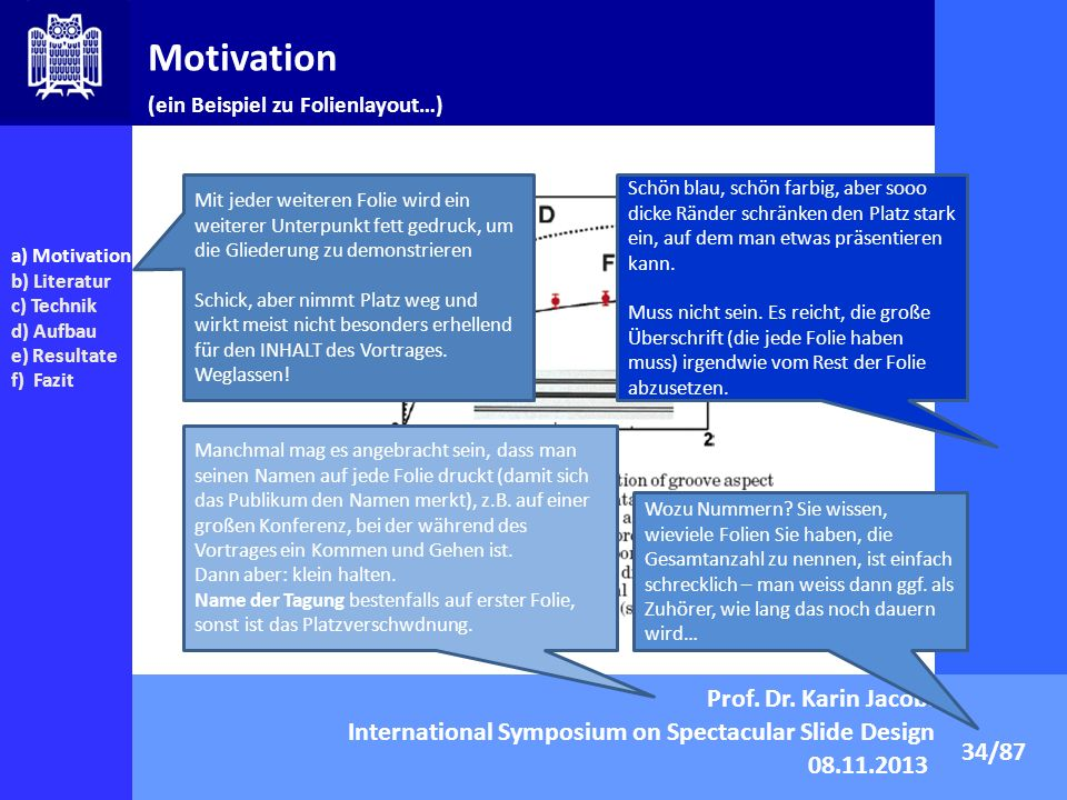 Motivation Prof. Dr. Karin Jacobs