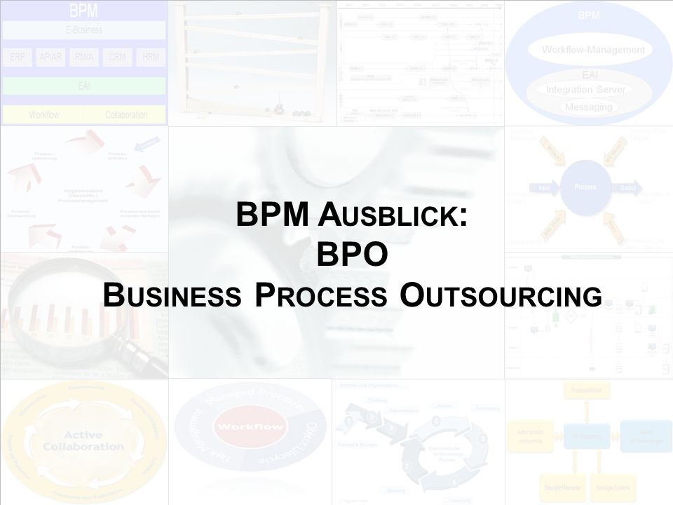 BPM Ausblick: BPO Business Process Outsourcing