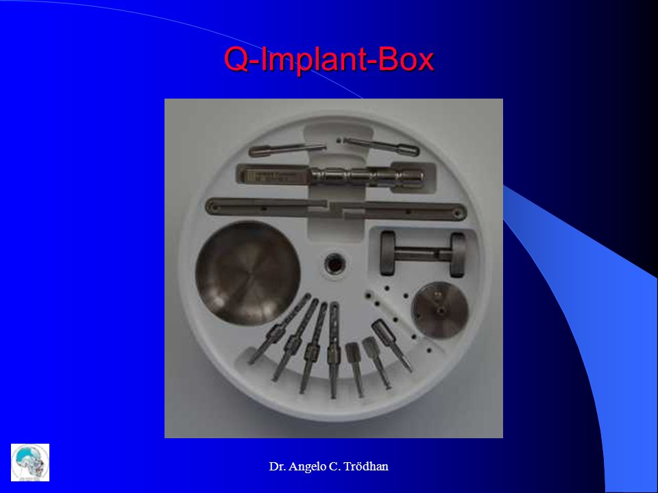 Q-Implant-Box Dr. Angelo C. Trödhan