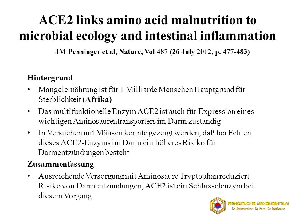 ACE2 links amino acid malnutrition to microbial ecology and intestinal inflammation