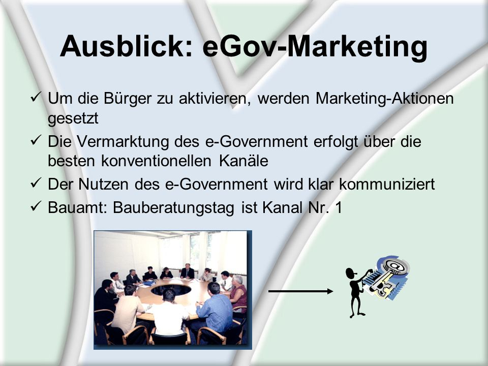 Ausblick: eGov-Marketing