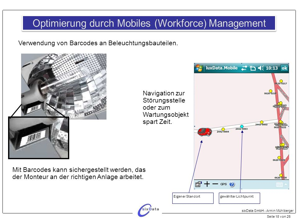Optimierung durch Mobiles (Workforce) Management
