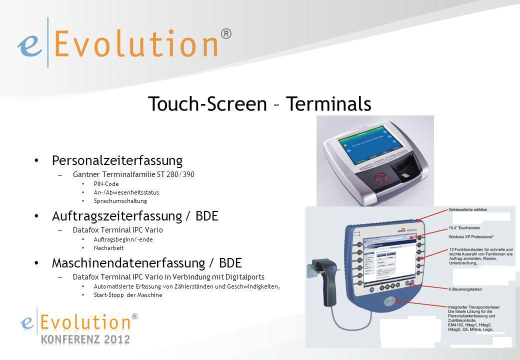 Touch-Screen – Terminals