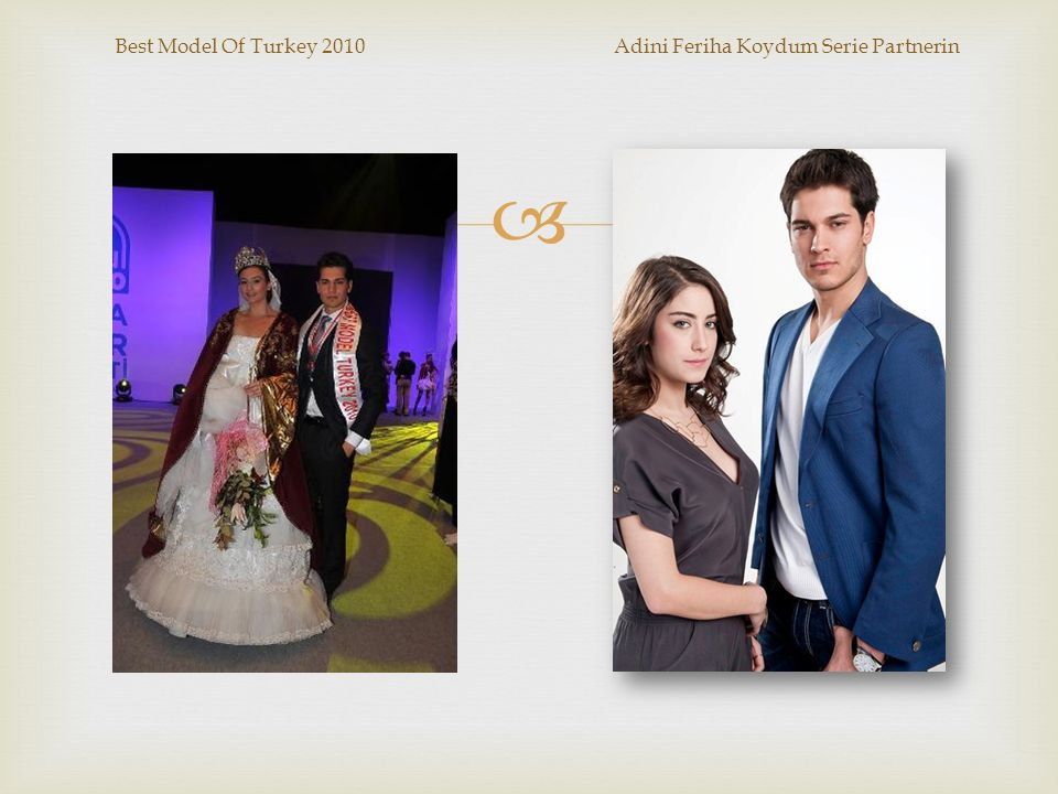 Best Model Of Turkey 2010 Adini Feriha Koydum Serie Partnerin