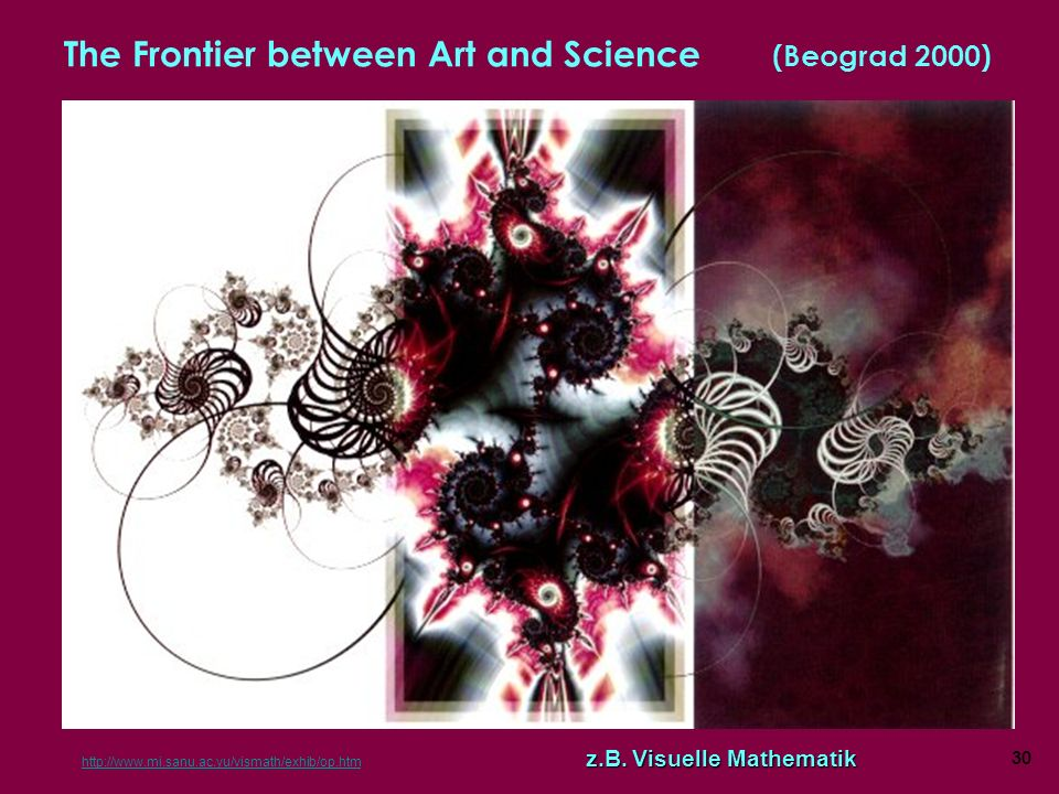 The Frontier between Art and Science (Beograd 2000)