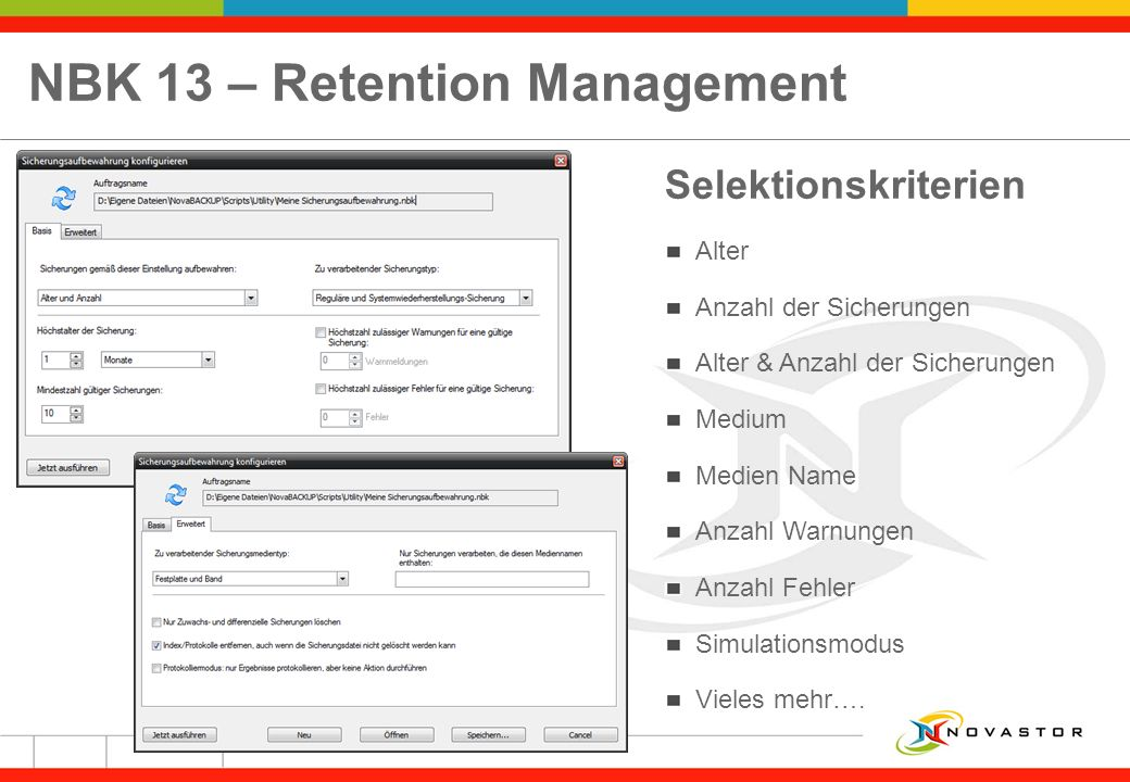 NBK 13 – Retention Management