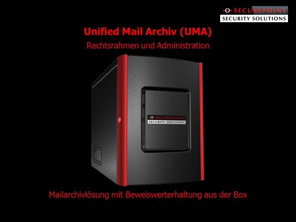 Unified Mail Archiv (UMA)