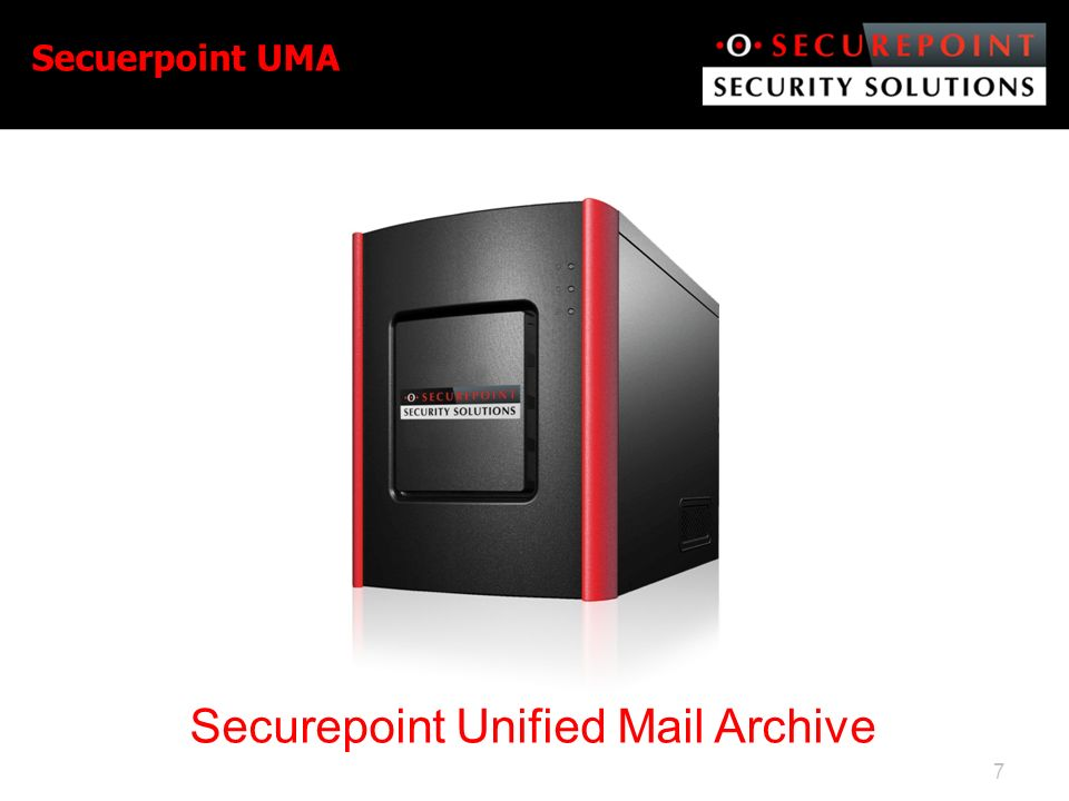Securepoint Unified Mail Archive