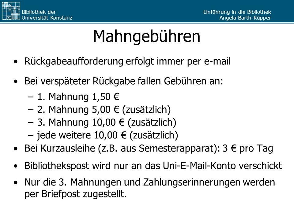 Bibliothek Der Universität Konstanz Ppt Herunterladen