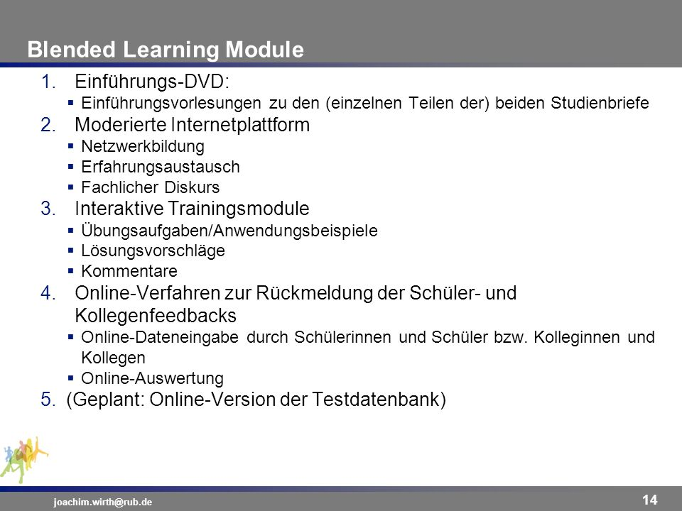 Blended Learning Module