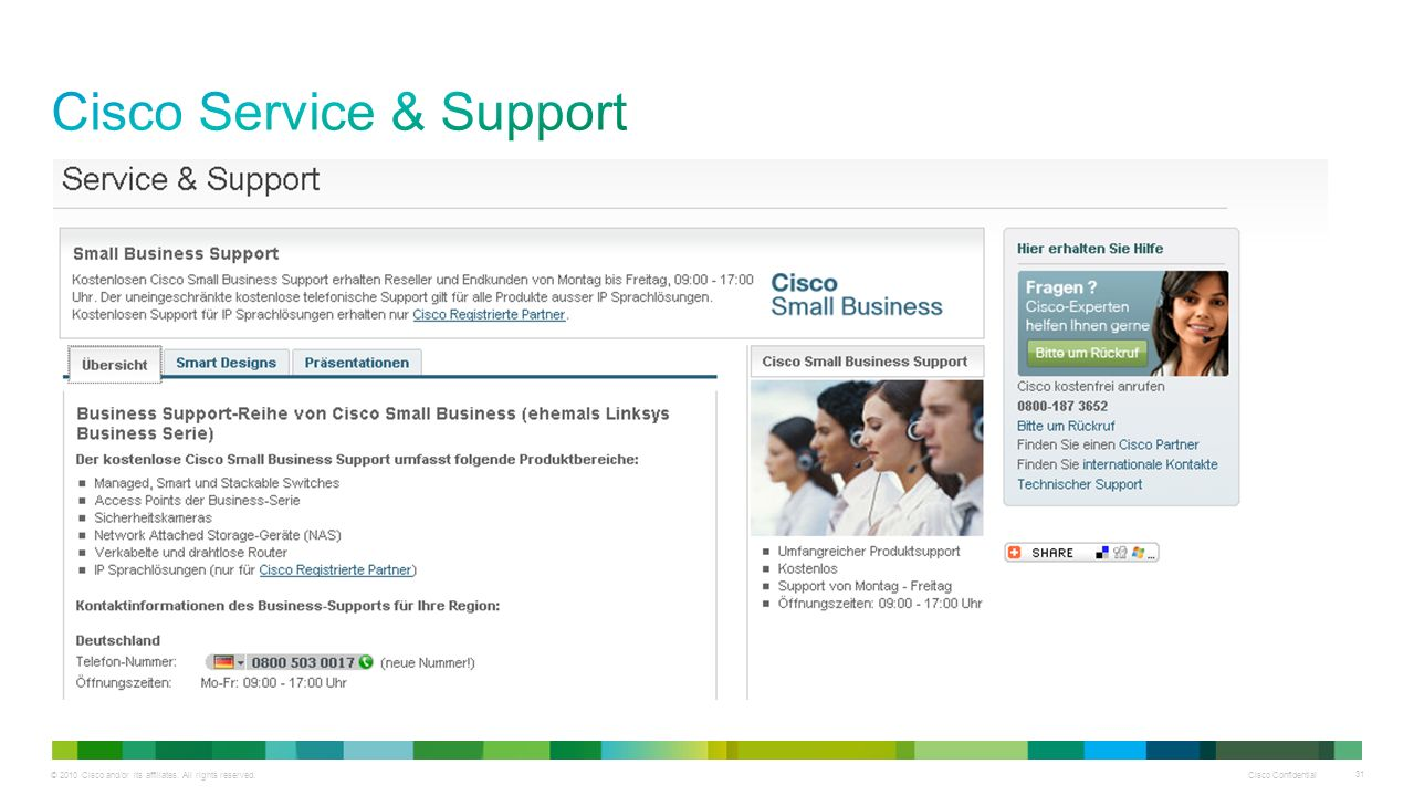 Cisco Service & Support