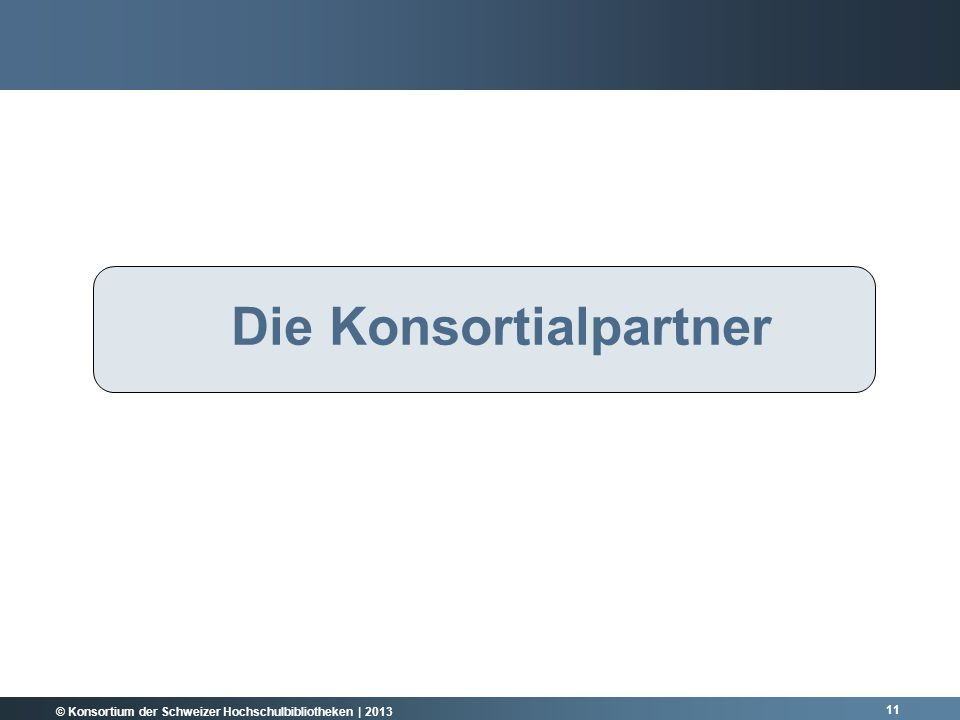 Die Konsortialpartner