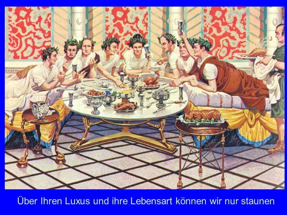 Im rom essen alten Antike Tischkultur