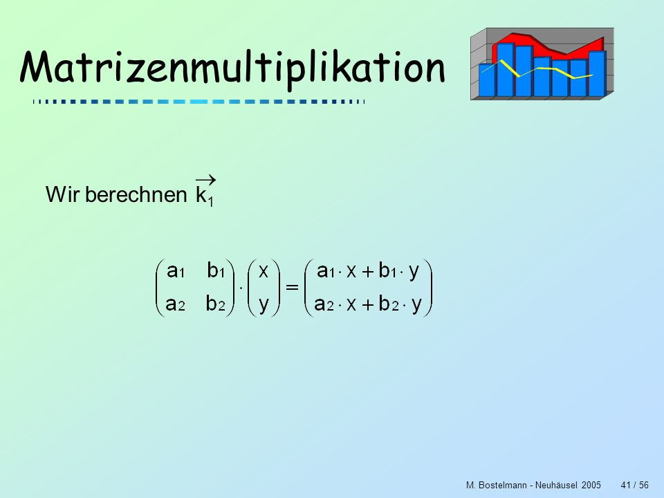 Matrizenmultiplikation