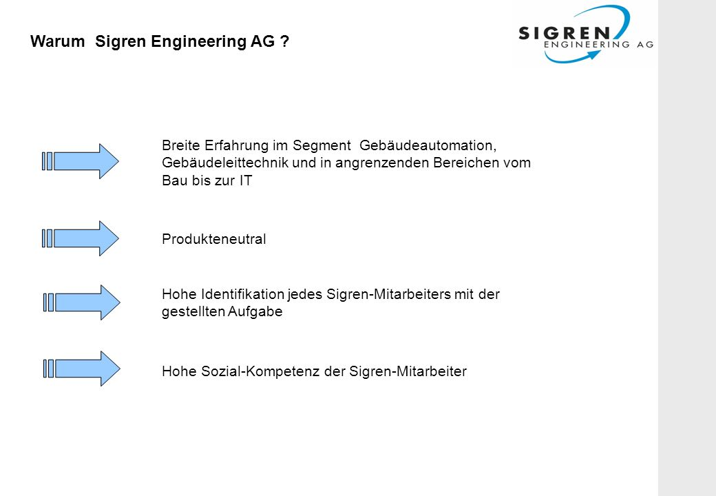 Warum Sigren Engineering AG