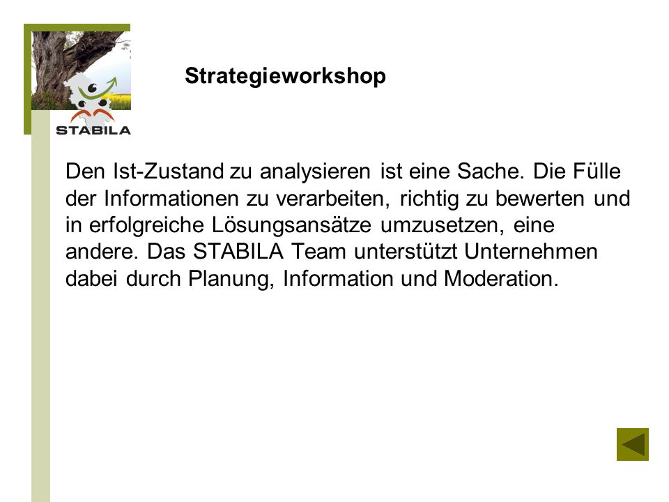 Strategieworkshop