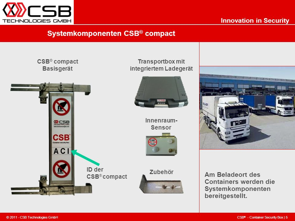 Systemkomponenten CSB® compact