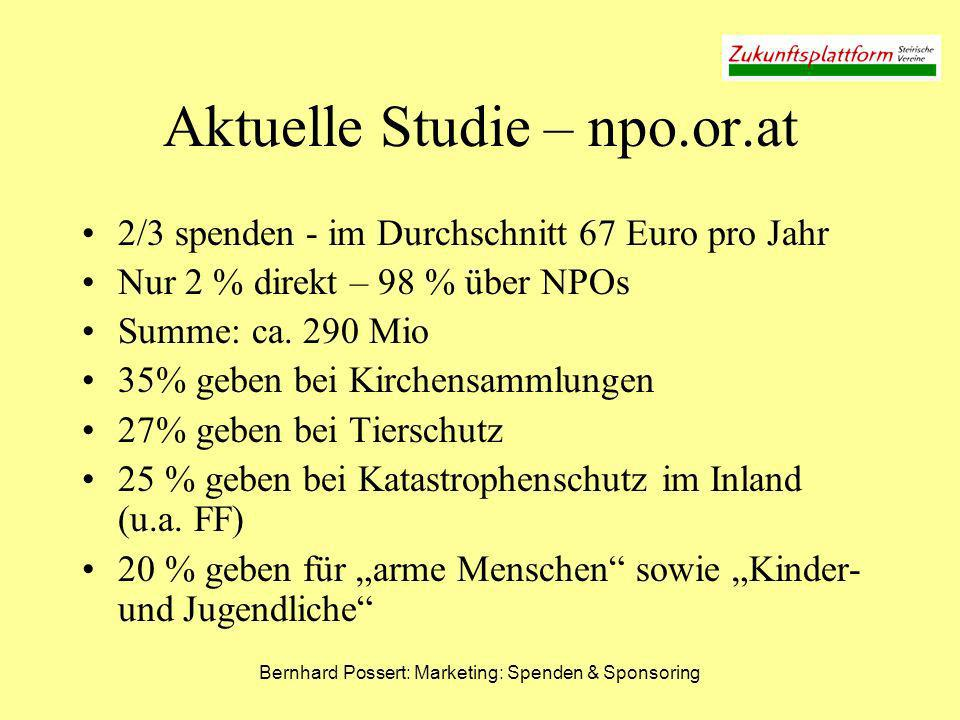 Aktuelle Studie – npo.or.at