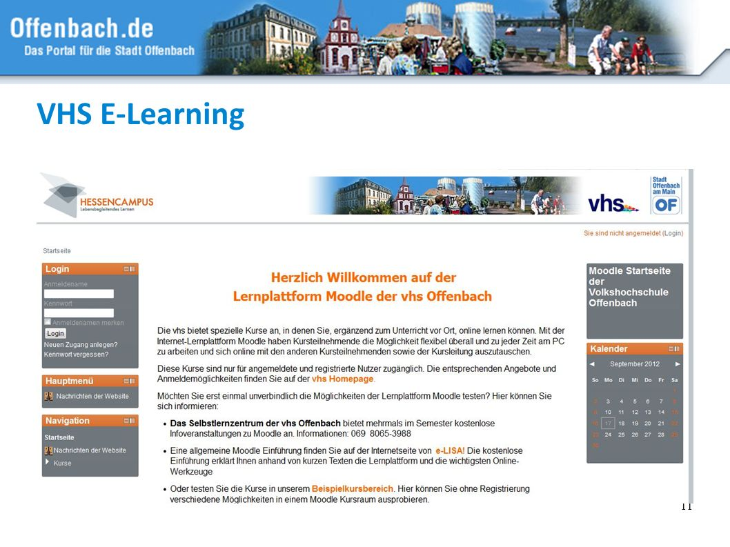 VHS E-Learning