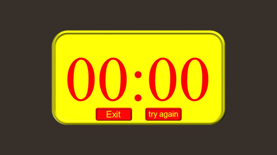 00:00 Exit try again