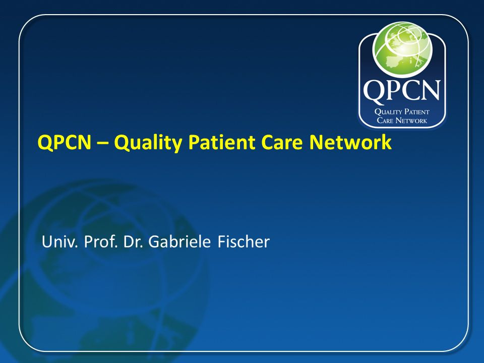 QPCN – Quality Patient Care Network