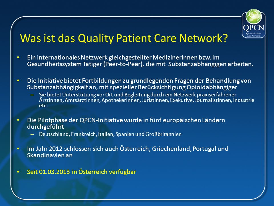 Was ist das Quality Patient Care Network