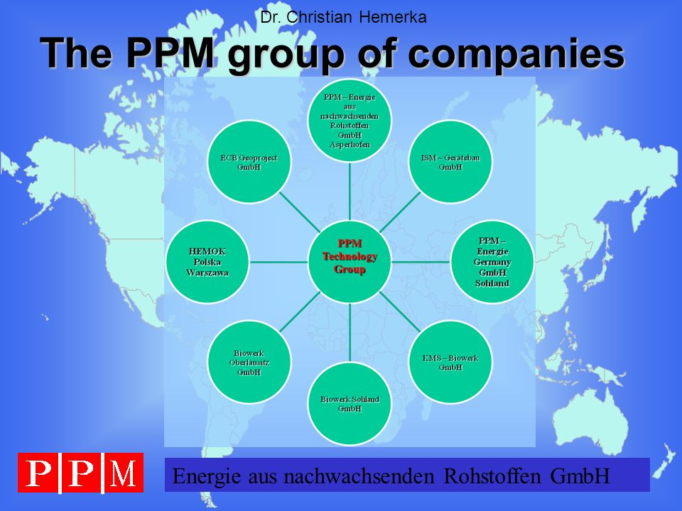 The PPM group of companies