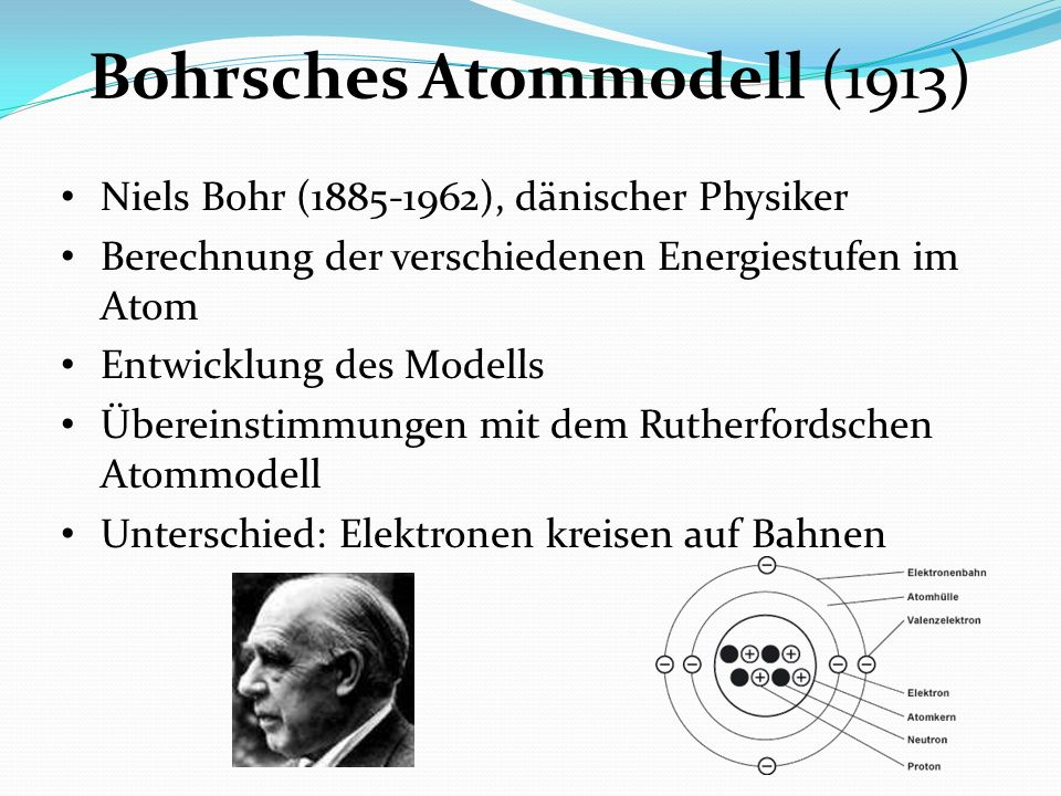 Bohrsches Atommodell (1913)
