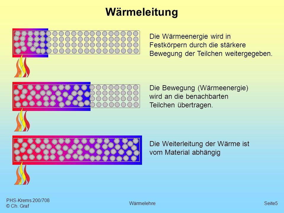 5 wrmeleitung - Warmeleitung Beispiele