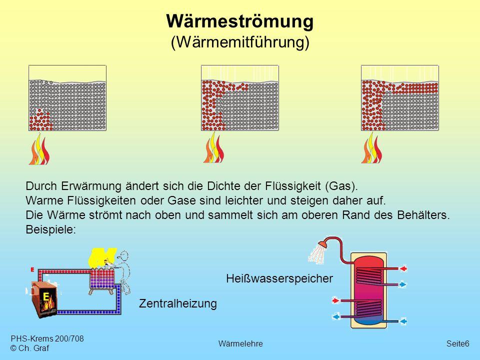 6 wrmestrmung wrmemitfhrung - Warmeleitung Beispiele