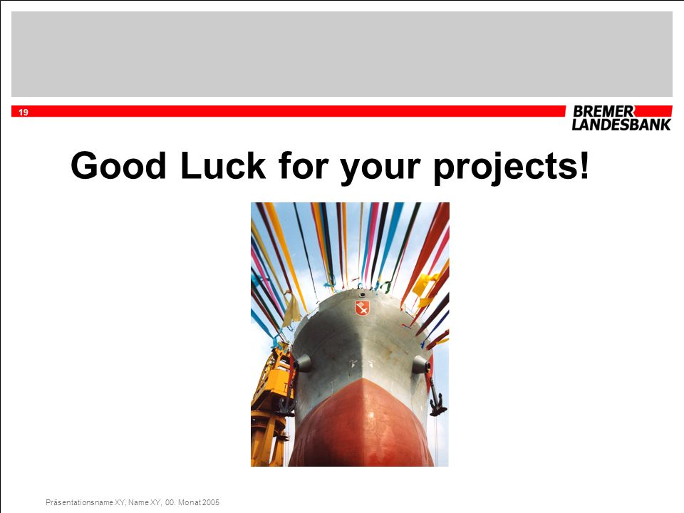Good Luck for your projects!